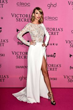 All the best dressed from last night's Victoria's Secret Fashion Show afterparties: Taylor Swift