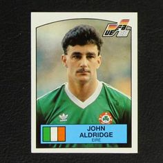 Image result for john byrne panini sticker euro88 John Aldridge, John Byrne, Baseball Cards, Stickers, Image, Sticker, Decal, Decals