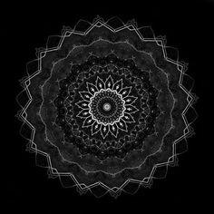 One dark mandala per day Celestial, Dark, Mandalas