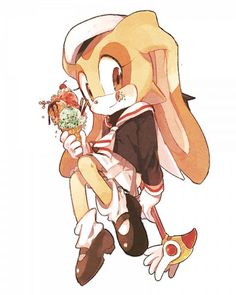 Cream the Rabbit - Sonic the Hedgehog - Image - Zerochan Anime Image Board Shadow The Hedgehog, Sonic The Hedgehog, Cream Sonic, Sakura Cosplay, Sonic Heroes, Sonic Franchise, Sonic And Amy, Sonic Fan Art, Character Aesthetic