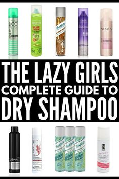 Apr 2020 - Looking for the best invisible dry shampoo for your hair? We've rounded up 10 of the best drugstore dry shampoo brands for every budget! Oily Hair Shampoo, Good Dry Shampoo, Batiste Dry Shampoo, Shampoo For Curly Hair, Using Dry Shampoo, Natural Shampoo, D Lab, Curly Hair Styles, Natural Hair Styles