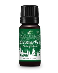 Christmas Tree Holiday Synergy Essential Oil Blend 10 ml. 100% Pure, Undiluted, Therapeutic Grade.