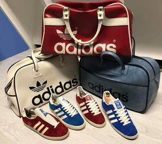 164c98aa7f Gazelles and Peter Black bags Adidas Retro
