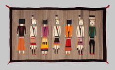 Edderkoppekvindens spind - Tæpper fra navajo-indianerne
