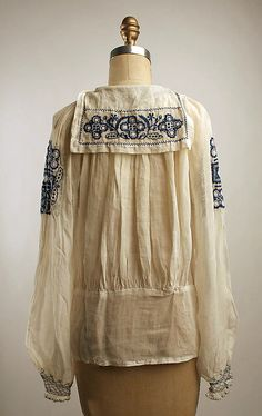 Blouse   Date: 1921–22