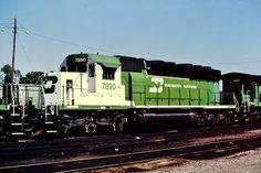 Burlington Northern, Train Times, Train Tracks, Locomotive, Bridges, Roads, Paths, Diesel, The Past