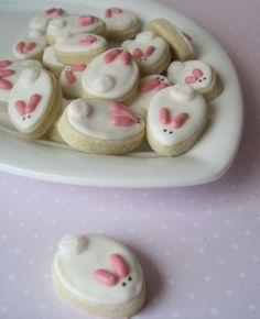 Bunny Cookies for Easter