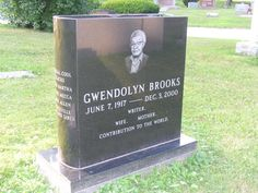 Gwendolyn Brooks (1917 - 2000)Poet, she was the first African American to win a Pulitzer prize for poetry