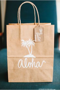 Aloha Welcome Bags for the Guests