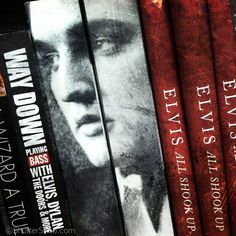 Book covers through the lens of my iPhone. #iPhoneography #photography #Elvis #TheKing What happens when you take your iPhone with you on a trip to Barnes & Noble? Well, nothing, technically. Especially if you're trying to access their WiFi network. But if you're into iPhoneography, the books and book covers around you become amazing works of art. So why not re-imagine them with an iPhone? See more of my iPhone photography at www.ShutterSnob.com