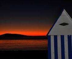 Ma ptit' cabane sur la Lagune  Bouzigue lever de soleil sur le St Clair