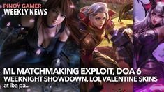Mobile Legends Matchmaking Exploit  Bren Esports Wins Weeknight Showdown  MaxBox AoV Team Disband Mobile Legends, Esports, Pinoy, Videos, Youtube, Anime, Movie Posters, Movies, 2016 Movies