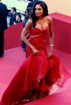 """Rosario Dawson Photos Photos - Rosario Dawson attends the """"This Must Be The Place"""" premiere during the Annual Cannes Film Festival at Palais des Festivals on May 2011 in Cannes, France. - """"This Must Be The Place"""" Premiere - Annual Cannes Film Festival Beautiful Celebrities, Beautiful Actresses, Black Celebrities, Palais Des Festivals, Black Actresses, Rosario Dawson, Star Wars, Beautiful Black Women, Beautiful Ladies"""