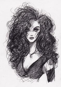 Bellatrix Lestrange by ~KennedyxxJames