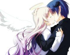 1280x1024 Wallpaper yuzuki kei, girl, boy, angel