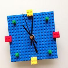 Horloge #Lego #DIY