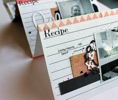 Riikka Kovasin - Paperiliitin: Recipe Of A Good Trip Mini Book - Canvas Corp Brands- Canvas Home Basics Recipe Cards, Gourmet Tags, 7gypsies Maritime Paper and Serengeti Papers #recipecrafts #DIYrecipe #canvascorp #7gypsies