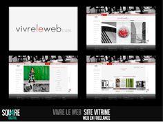Vivre le web by SQUARE | Website