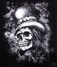 skeleton with top hat - Google Search