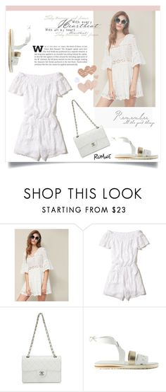 """""""Untitled #1815"""" by kriz-nambikatt on Polyvore featuring Hollister Co., Chanel and Bristols6"""