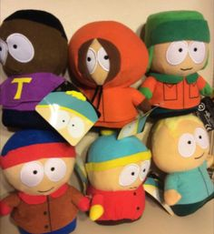 Got all 6 South Park Plushies. Ebay's great.