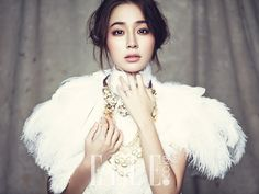 Lee Min Jung's 4th Batch of Wedding Spreads In Elle Korea's September 2013 Issue : Couch Kimchi