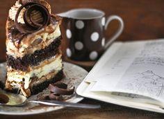 peanut butter chocolate cheesecake | Peanut Butter Cup Chocolate Cake Cheesecake