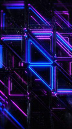 Wallpaper iphone purple art colour 39 ideas for 2019 Black And Purple Wallpaper, Neon Wallpaper, Purple Art, Trendy Wallpaper, Wallpaper Desktop, Nature Wallpaper, Light Purple, Cyberpunk Aesthetic, Neon Aesthetic