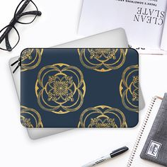 Nights in blue and gold II - Macbook Sleeve by artist Macbook Sleeve, Best Laptops, Macbook Pro Retina, Laptop Bags, Lovers Art, Tech Accessories, Casetify, Geek Stuff, Cases