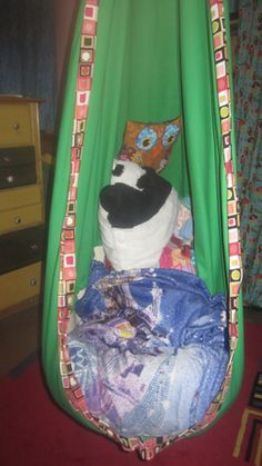 General directions for sewing a copycat HugglePod hanging chair for a child