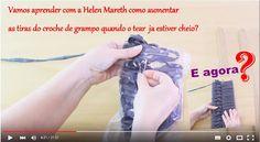 Katia Ribeiro Moda & Decoração Handmade: Aprenda com Helen Mareth como aumentar tiras do Cr...
