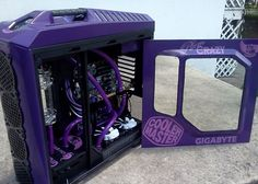 PC gaming Purple Rain style! #rigs