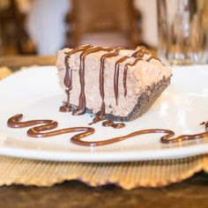 Chocolate Hazelnut Cream Pie