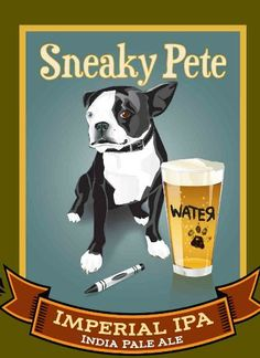Sneaky Pete Imperial IPA - American Craft Beer