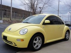 1999 Volkswagen New Beetle -Very close to my current car except mine is a 2000. Same color though.