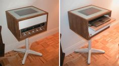 DIY Project: The Retro New DIY Entertainment Center