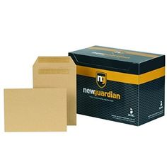 New Guardian Self-Seal C5 Manilla Envelopes 229x162mm 130gsm D26103 - C5 Envelopes Envelopes, Seal, Office Supplies, Harbor Seal