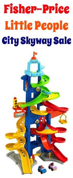 Fisher-Price Little People City Skyway: $23.99!