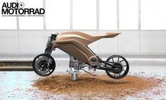 Audi Motorrad Concept Clay Model