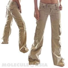 khaki cargo pants women baggy sweatpants pants baggy pant women ...