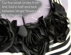 KRISTINA J.: How To Raise A Neckline With Spiral Flowers