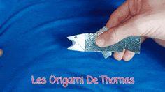 Les bricolages de Thomas: Tutoriel vidéo : Poisson animé en Origami