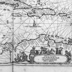 [Illustrations de De Nieuwe en onbekende weereld of Beschryving van America...] / [Non identifié] ; Arnoldus Montanus, aut. du texte