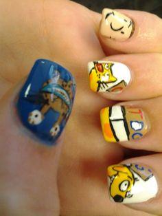 Nickelodeon 90's Nails