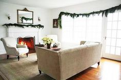 A Country Farmhouse: The Living Room