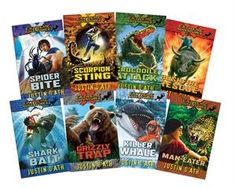Extreme Adventures Complete Collection (8) the chapter book series for adventurous kids aged 6-11!