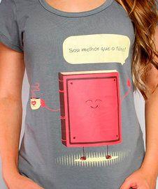 Camiseta Melhor Que o Filme - Feminina