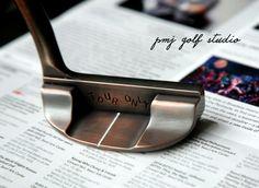 Black copper finish By PMJ golf studio.
