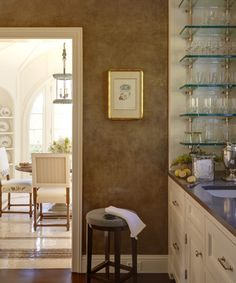 Rosamaria G Frangini | Architecture Interior Design | Marshall Watson butler's pantry