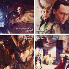 Have care how you speak. Loki is beyond reason, but he is of Asgard, and he is my brother.